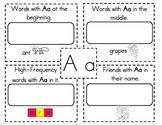 Kindergarten Write the Room from A to Z
