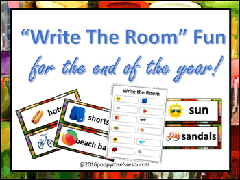 Write the Room fun for the end of the year!