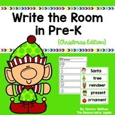 Write the Room in Pre-K {Christmas Edition}