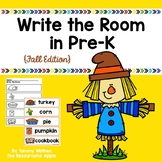 Write the Room in Pre-K {Fall Edition}