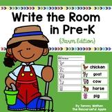 Write the Room in Pre-K {Farm Edition}