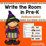 Write the Room in Pre-K {Halloween Edition}