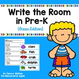Write the Room in Pre-K {Ocean Edition}