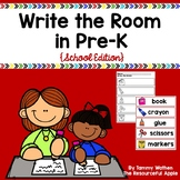 Write the Room in Pre-K {School Edition}
