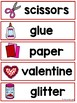 Write the Room in Pre-K {Valentine's Edition}
