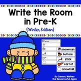 Write the Room in Pre-K {Winter Edition}