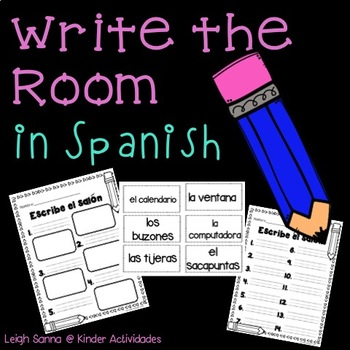 Write the Room in Spanish