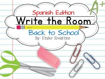 Write the Room (Spanish Edition) - Back to School