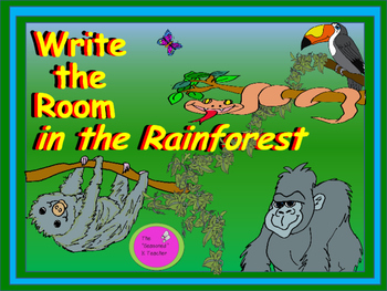 Write the Room in the Rainforest