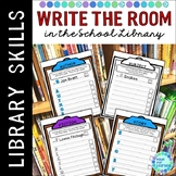 Library Skills Write the Room Location Activities