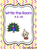 Write the Room: -k OR -ck