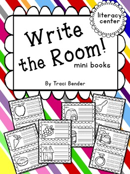 Write the Room mini books {Literacy Center}