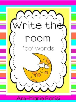 Write the Room 'oo' Words