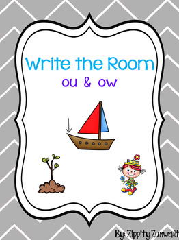 Write the Room - Diphthong ou & ow