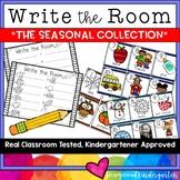 Write the Room . simple, seasonal literacy word work kids LOVE!!!