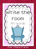 Write the Room 'th' Words