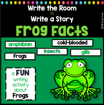 Write the Room to Write a Story - Frog Facts - Metamorphosis