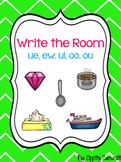 Write the Room - ue, ew, ui, oo, ou