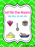 Write the Room - Diphthong ue, ew, ui, oo, ou
