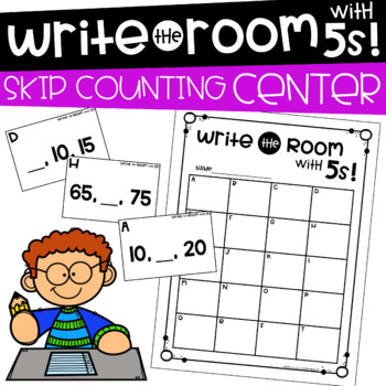 Write the Room with 5s! Math Center by Education and Inspiration