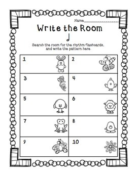Write the Room with Half Note: Spring Edition