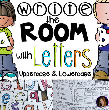 Write the Room with Letters (uppercase and lowercase)