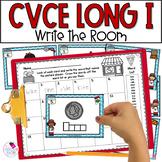 Long I Silent E CVCe Write the Room Activity