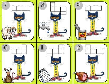 Write the Room with Pete the Cat: short a words