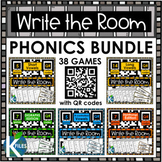 Write the Room with QR Codes Phonics BUNDLE