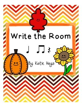 Write the Room with Quarter Note Rests: Fall Edition