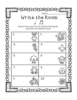 Write the Room with Ta & Ti-Ti: Spring Edition