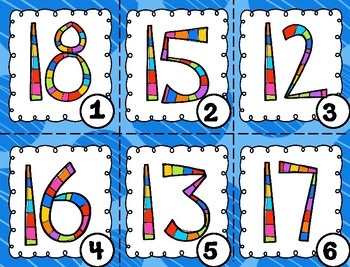 Write the Room with Teen Numbers