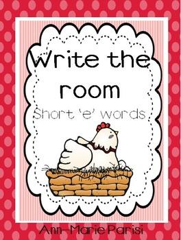 Write the Room,Short 'e' Words