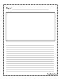 FREE Writing/Math Journal pages