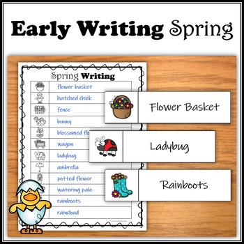 Spring - Practice Writing