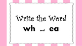Write the Word PPT  Unit 3 Phonics International SRF  z, e