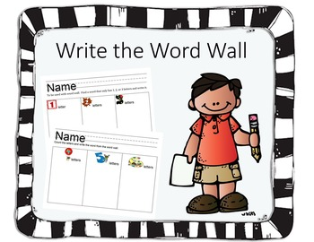Write the Word Wall