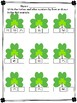 St. Patrick Math made fun. Write the Before and After Numbers and Color!