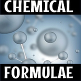 Write the chemical formulae