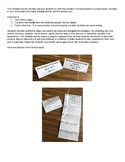 Write the equation of a tangent line foldable activity