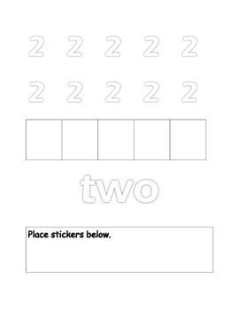 Write the numbers 1-20