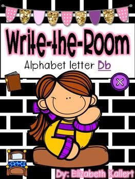 Write the room: Alphabet Letter B