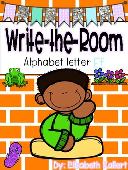 Write the room: Alphabet Letter F