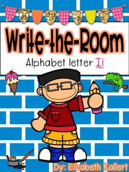 Write the room: Alphabet Letter I