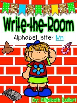 Write the room: Alphabet Letter N