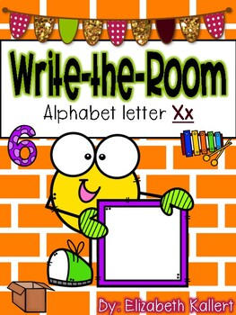 Write the room: Alphabet Letter X