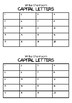 Write the room - Capital Letters