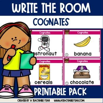 Write the room -Cognates