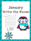 January Writing Activities / January Write the Room