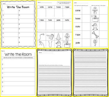 Write the room - Long o CVCe